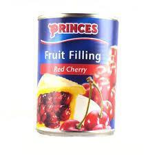 Princes Fruit Filling - Red Cherry 410gm