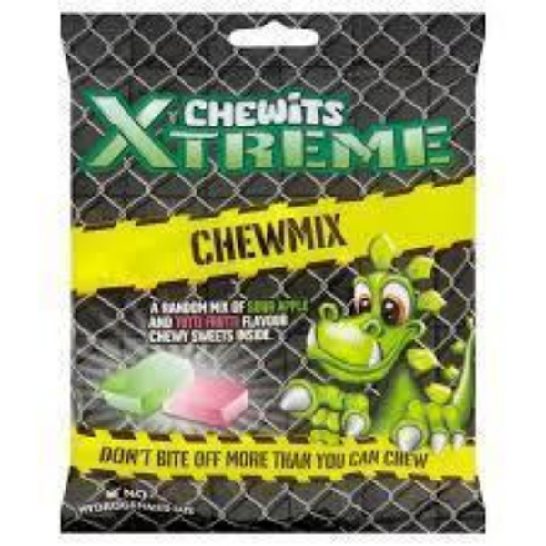 Chewits Xtreme Chew Mix Bag 180g