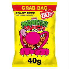 Walkers Roast Beef Monster Munch 40g