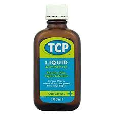 TCP Antiseptic Liquid 100ml  150g