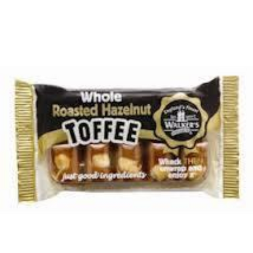 Walkers Roasted Hazelnut Toffee Slab 100g