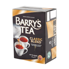 Barry's Classic Blend Tea Bags 40's 175g