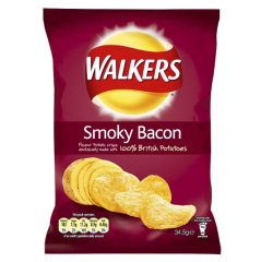 Walkers Smoky Bacon 32.5gms