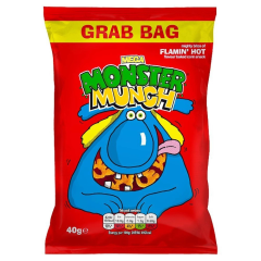Walkers Flaming Hot Monster Munch 40g