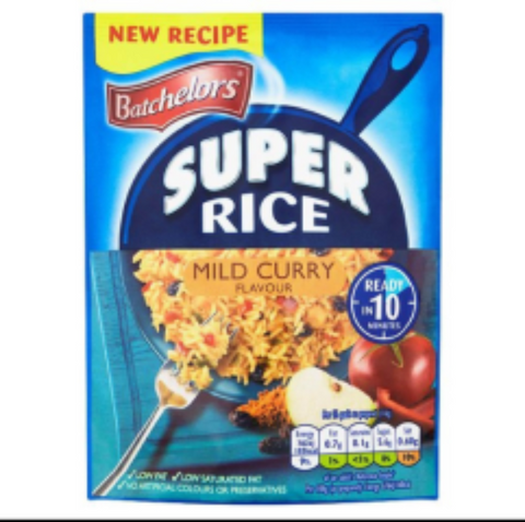 Batchelors Super Rice - Mild Curry 100g
