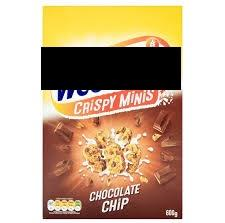 W*****ix Crispy Minis Chocolate Chip 600gms