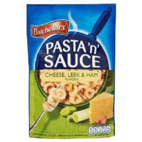 Batchelors Pasta n Sauce- Cheese, Leek & Ham Single Packets 110g
