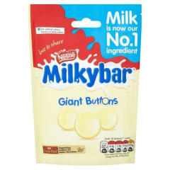 Nestle Milkybar Giant Buttons Pouch 103g