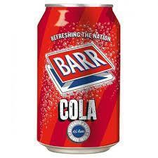 Barrs Cola 330ml/350gm