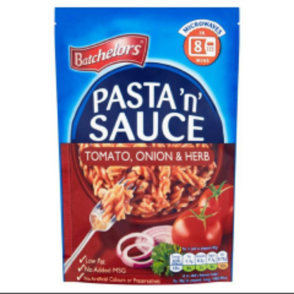 Batchelors Pasta N Sauce Tomato, Onion & Herb Single Packet 110g