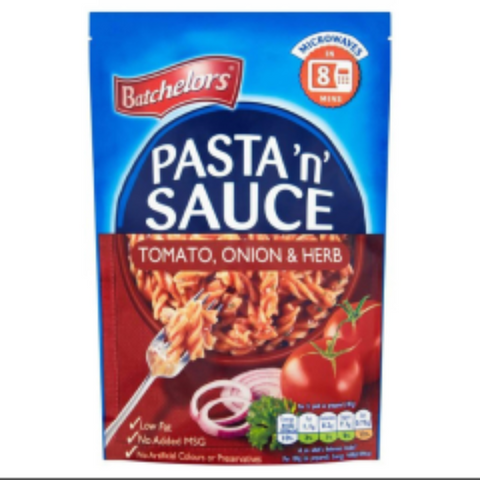 Batchelors Pasta N Sauce Tomato, Onion & Herb Single Packet