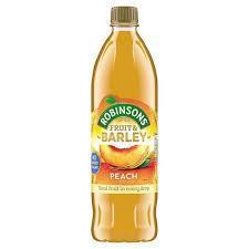 Robinsons Fruit & Barley Peach 1L