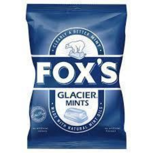 Fox's Glacier Mints Bag 130g
