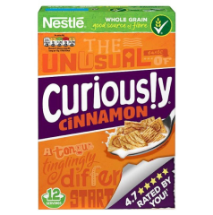 Nestle Curiously Cinnamon 375g
