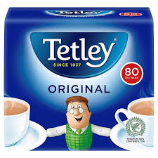 Tetley Original Tea Bags 80's Pack 250g