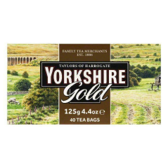 Yorkshire Tea Gold Bags 40's 125g