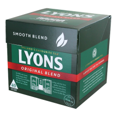 Lyons Tea Original 40's 125g