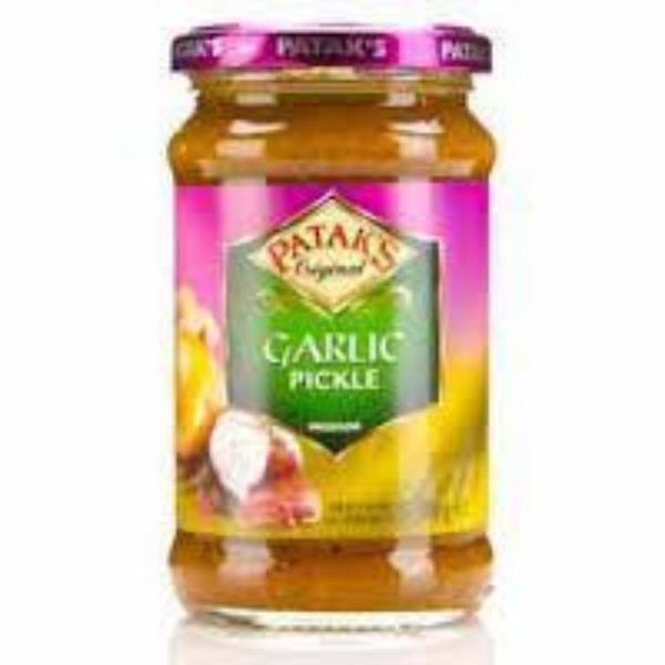 Pataks Garlic Pickle Medium 283g