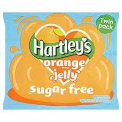 Hartley's Sugar Free Orange Jelly Sachet 23g - (Best Before February 2019)