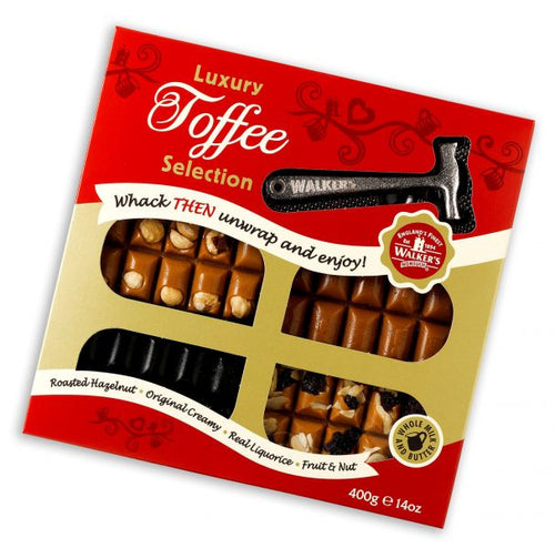 Walkers Non Such Selection Toffee Slab & Hammer Pack 400g