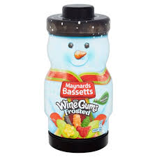 Maynard Bassetts Wine Gums Frosted Gift Tub 495g
