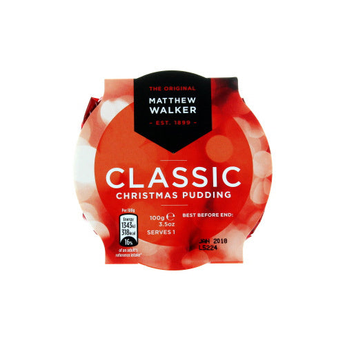 Matthew Walker Classic Christmas Pudding 100g