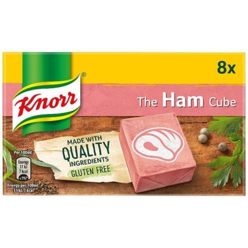 Knorr's 8 Pack Ham Stock Cubes