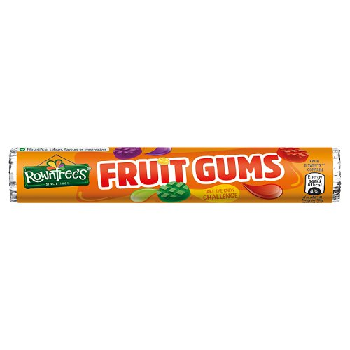Rowntree Fruit Gums Roll 40G