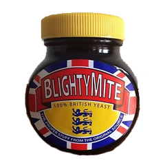 Blightymite 250gm Glass Jar