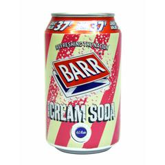 Barrs Cream Soda 330ml/350gm