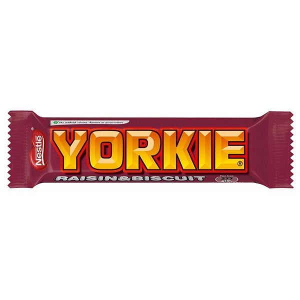 Nestle Yorkie Raisin & Biscuit Bar 44g
