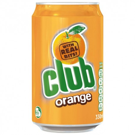 Club Orange Can 330ml