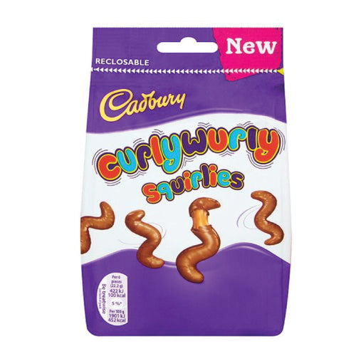 Cadbury Curly Wurly Squirlies Pouch 110g