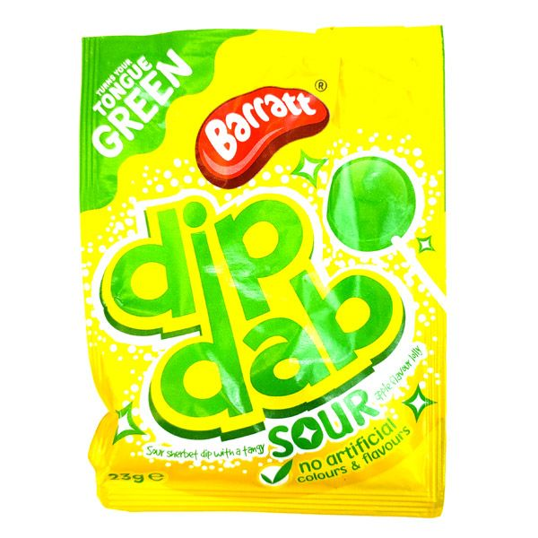 Barratt Dip Dab Apple Sour 23G
