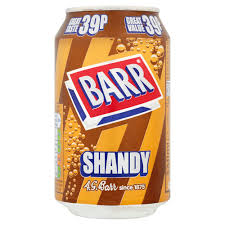 Barrs Shandy 330ml/350gm