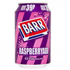 Barrs Raspberryade 330ml/350gm