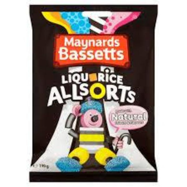 Bassetts Liquoice Allsorts Bag 215g