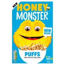 Honey Monster Sugar Puffs 320g