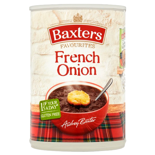 Baxters Favourites Single Tin French Onion Soup 400g