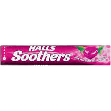 Halls Blackcurrant Soothers 45g. (Best Before: February 2020)