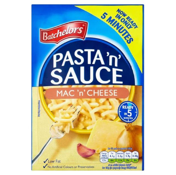 Batchelors Pasta N Sauce Macaroni Cheese Single Packet 108g
