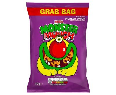 Walkers Pickled Onion Monster Munch 40g (Best Before: April 21)