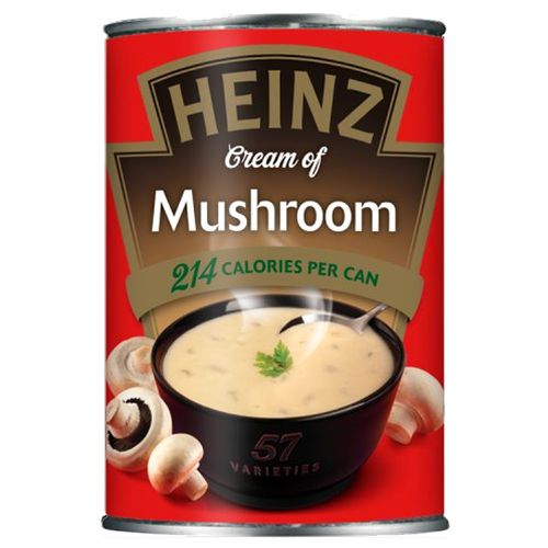 Heinz Cream of Mushroom Soup 400g (Best Before: March 2020)