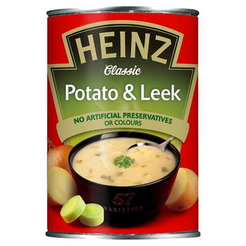 Heinz Potato and Leek Soup 400g