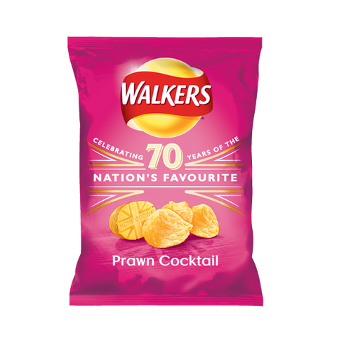 Walkers Prawn Cocktail 32.5gms (Best Before: March 21)