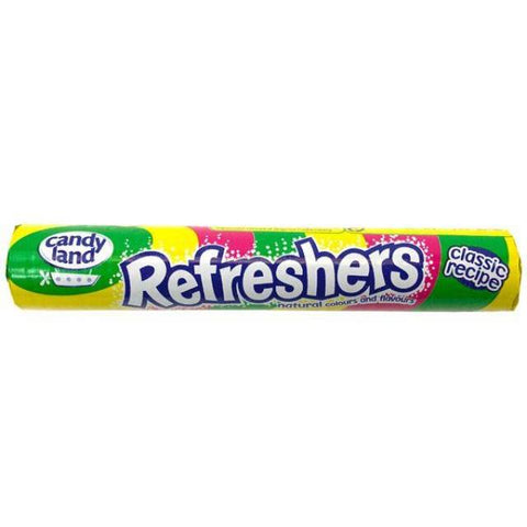 Candyland Refreshers Roll 34g