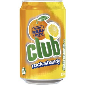 Club Rock Shandy Can 330ml