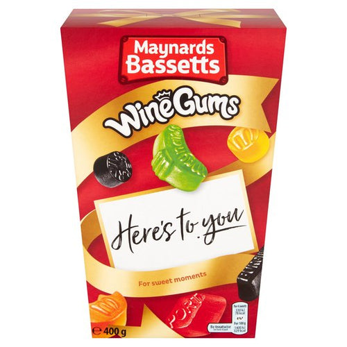 Maynard Bassetts Wine Gums Carton 400g