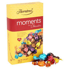 Thorntons Moments Gift Carton 250g