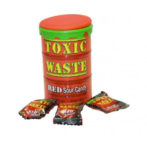Toxic Waste Sour Red 42g